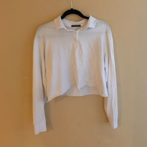 Collared and Cropped shirt